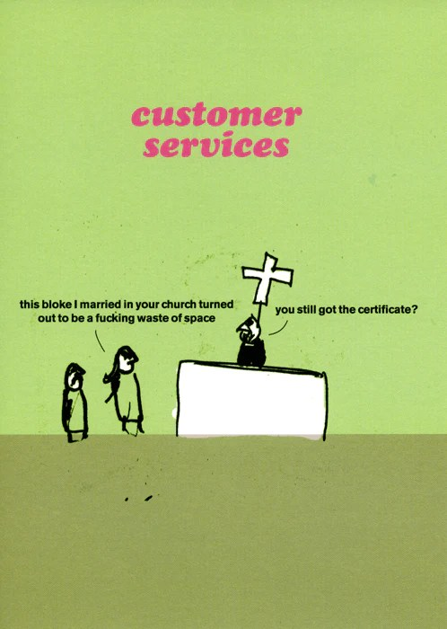 Rude Card By Modern Toss Funny Customer Services
