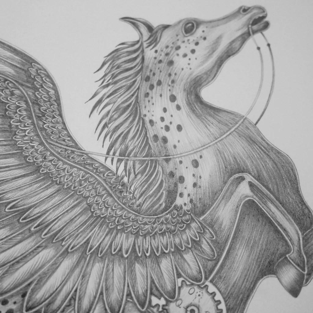 Detailing Majestic Pegasus Emma Shipley