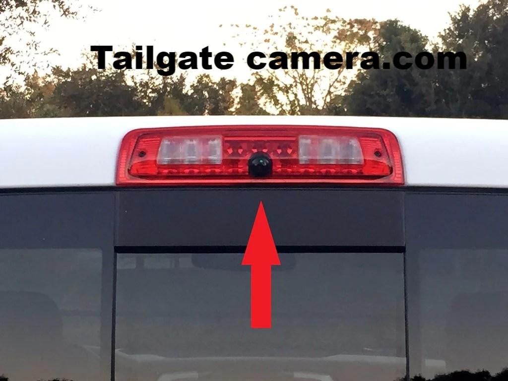 2001 Gmc Sierra Trailer Wiring Diagram 3rd Brake Light Backup Camera For 2013 2018 Dodge Ram