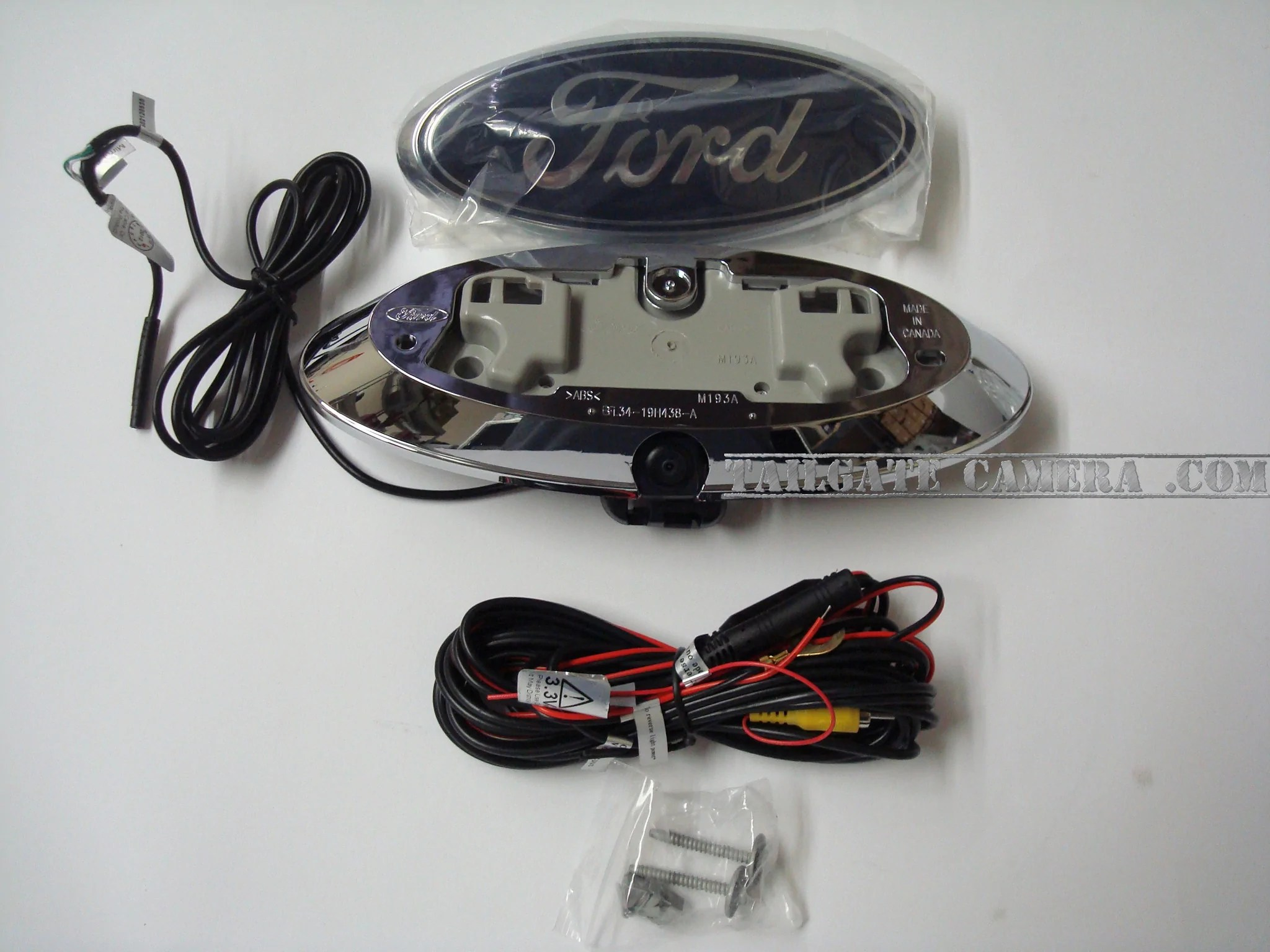 small resolution of ford tailgate emblem back up camera backup camera
