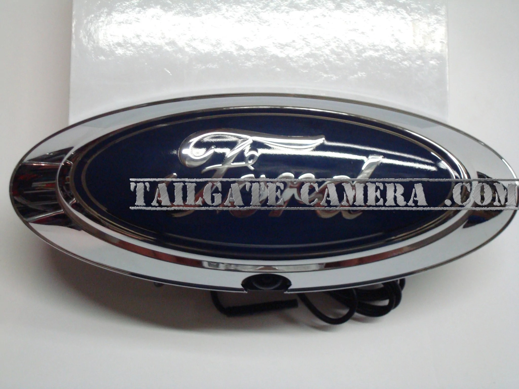 hight resolution of ford f series truck emblem camera
