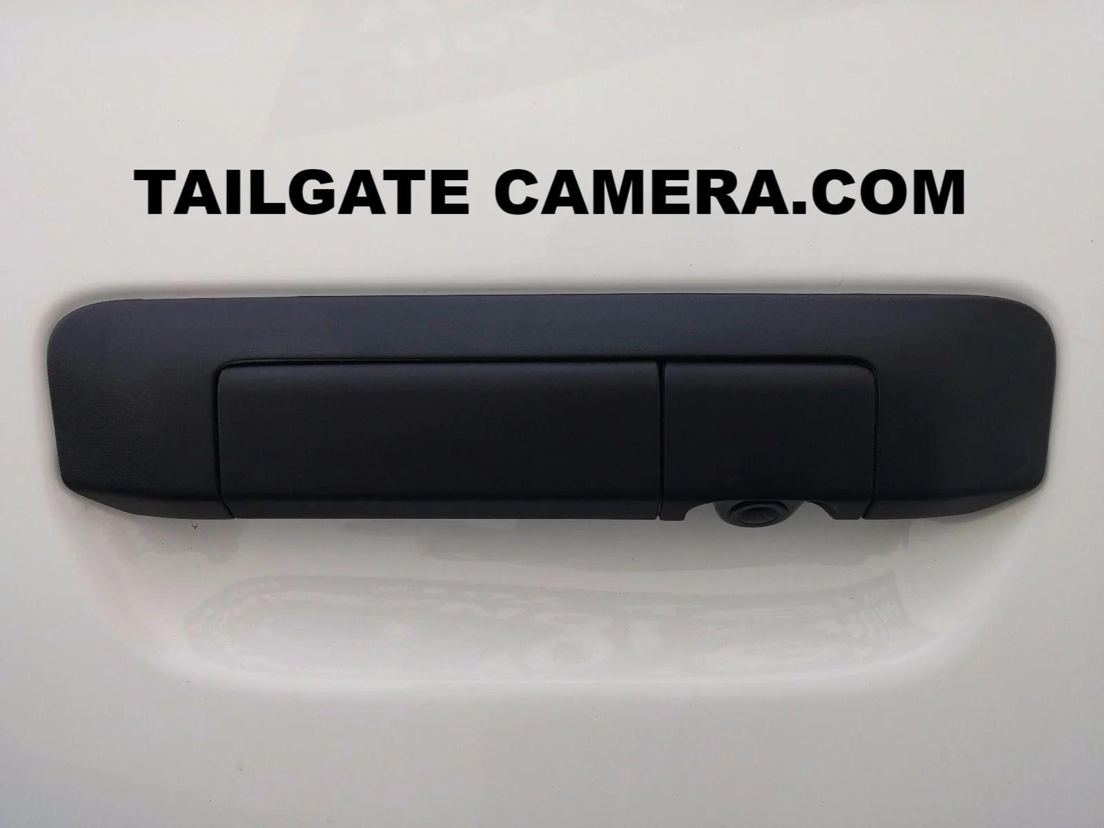 2005-14 Toyota Tacoma Rca Tailgate Handle Backup Camera
