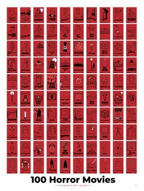 100 essential films scratch off chart