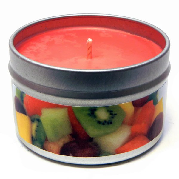 Fruit Slices 4oz Soy Candle Tin Candeo Candle