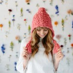 Free Bird Hoodie Hat Pattern Knit Collage