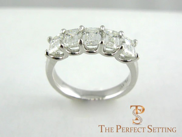 5 stone Diamond Engagement Ring  The Perfect Setting