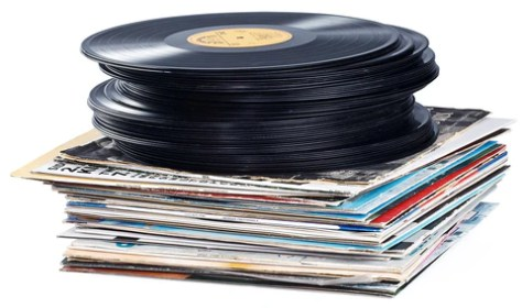 Image result for stack of 60s lps