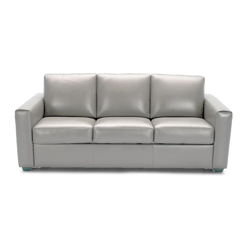 all leather sofa bed sofas with nailhead trim galileo picture of