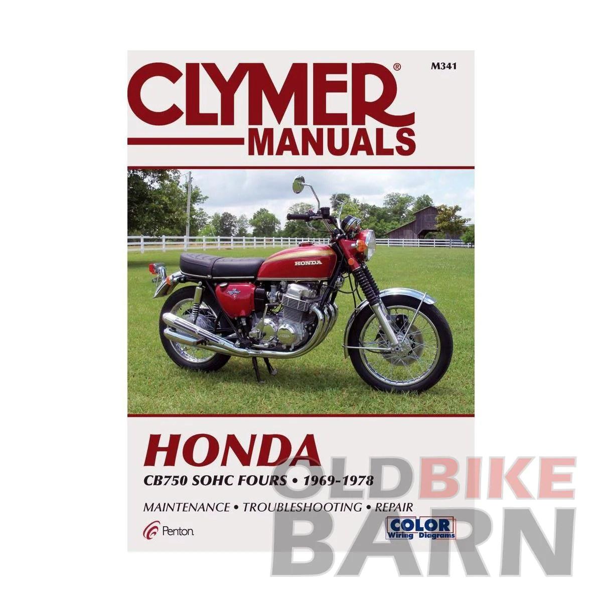 hight resolution of honda 69 78 cb750 repair manual