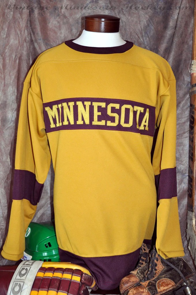 19251936 Minnesota Gophers Hockey Jersey  Classic MN Hockey