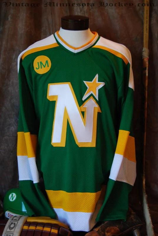 19861988 Minnesota North Stars Away Hockey Jersey  Classic MN Hockey
