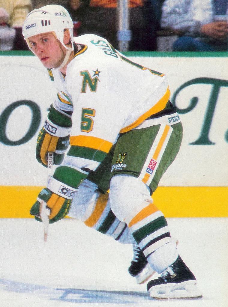 19831991 Minnesota North Stars Home Hockey Jersey  Classic MN Hockey