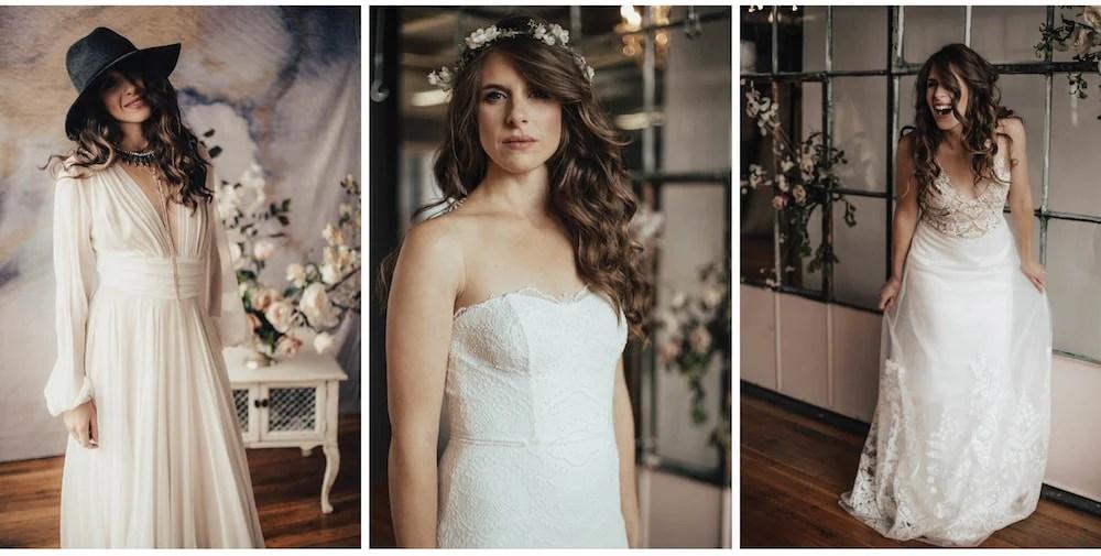 Bridal Gowns + Wedding Accessories