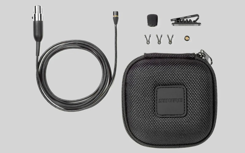 Shure MX150B/C-TQG Subminiature Lavalier Microphone