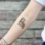 Baby Lion Temporary Tattoo Sticker Ohmytat