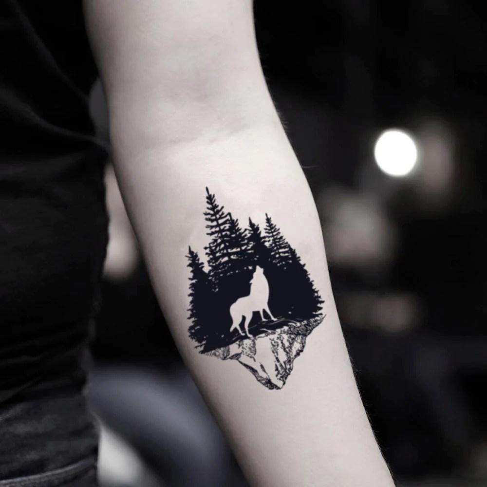 Jeden tag werden tausende neue, hochwertige bilder hinzugefügt. Wolfswald Temporare Tattoo Aufkleber Ohmytat