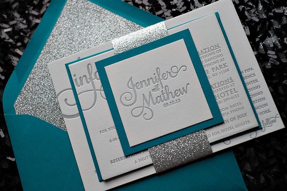Peacock and silver glitter wedding invitation popular wedding invitations for 2014 Just Invite Me