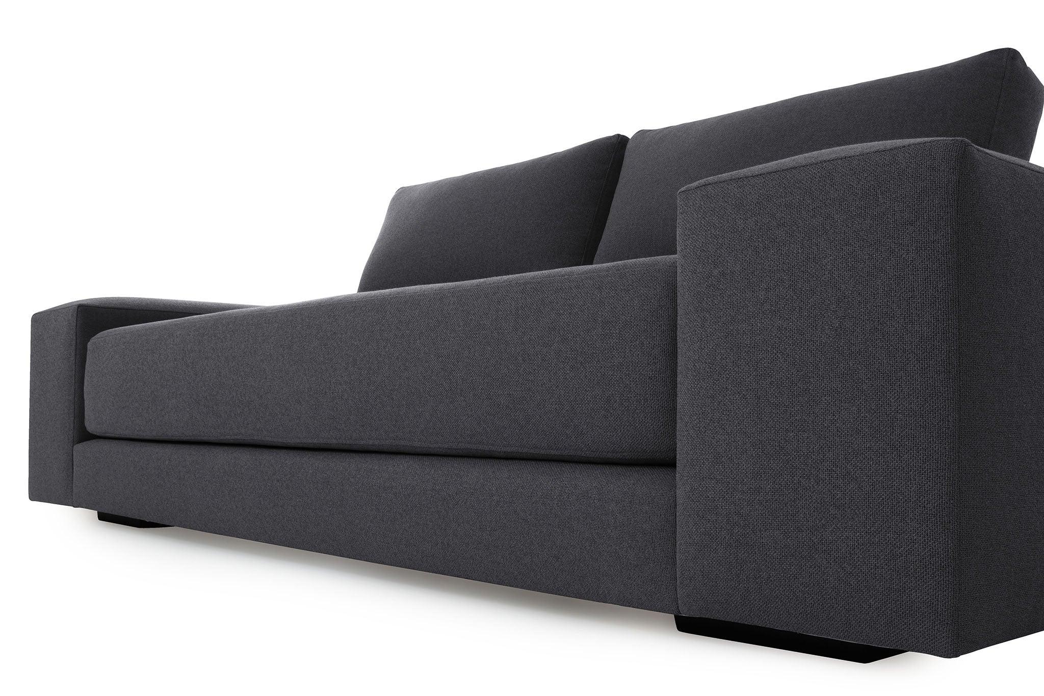 corner unit sofas south africa best quality leather uk elle 2 seater sofa - lava | origo