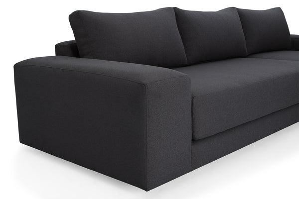 corner unit sofas south africa cheap leather sofa sectionals elle right hand - lava | origo