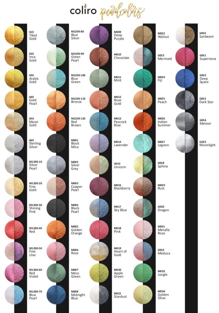 Moonlight Color : moonlight, color, Coliro, Pearlcolors, 'Moonlight', Splendith