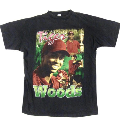 Vintage Tiger Woods The Masters Champion TShirt Golf PGA
