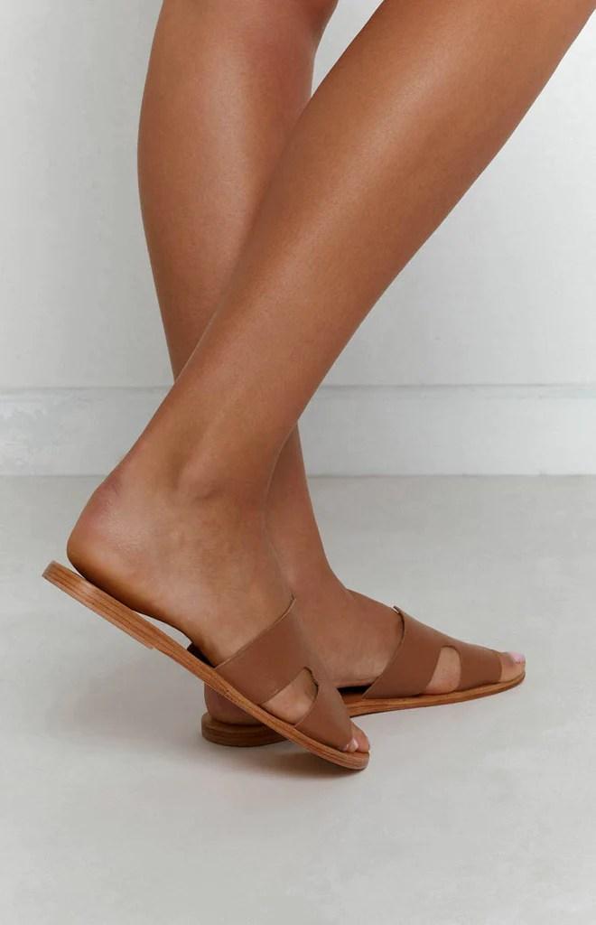 Just Because Agonda Sandal Tan 4