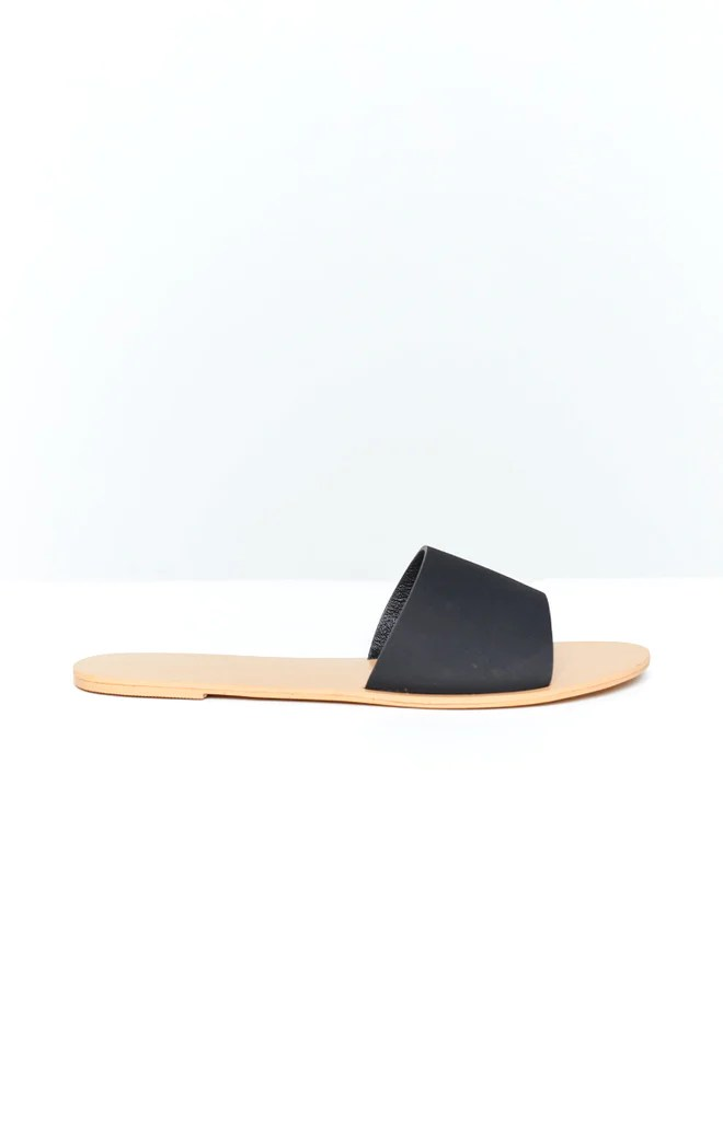 Billini Crete Sandals Black Nubuck 3