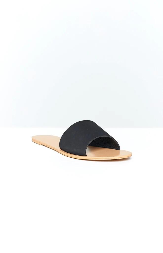 Billini Crete Sandals Black Nubuck 4
