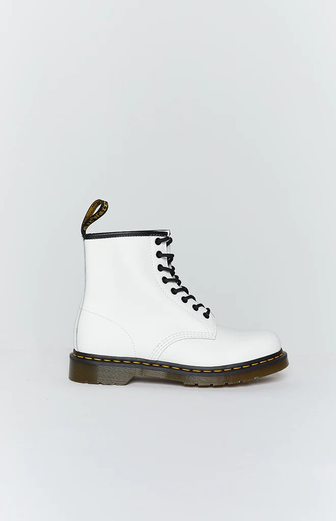Dr. Martens 1460 8EYE Boot White Smooth 3