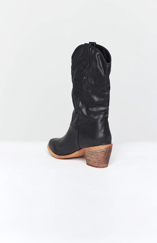 Saint Cowboy Boots Black 2