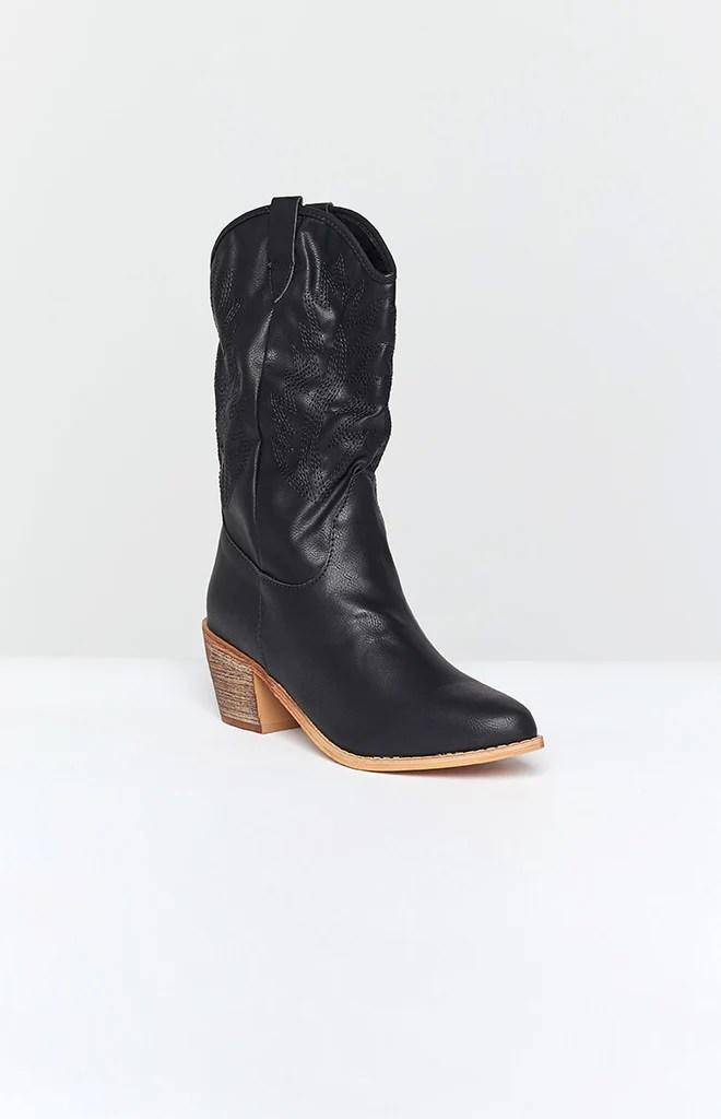 Saint Cowboy Boots Black 4