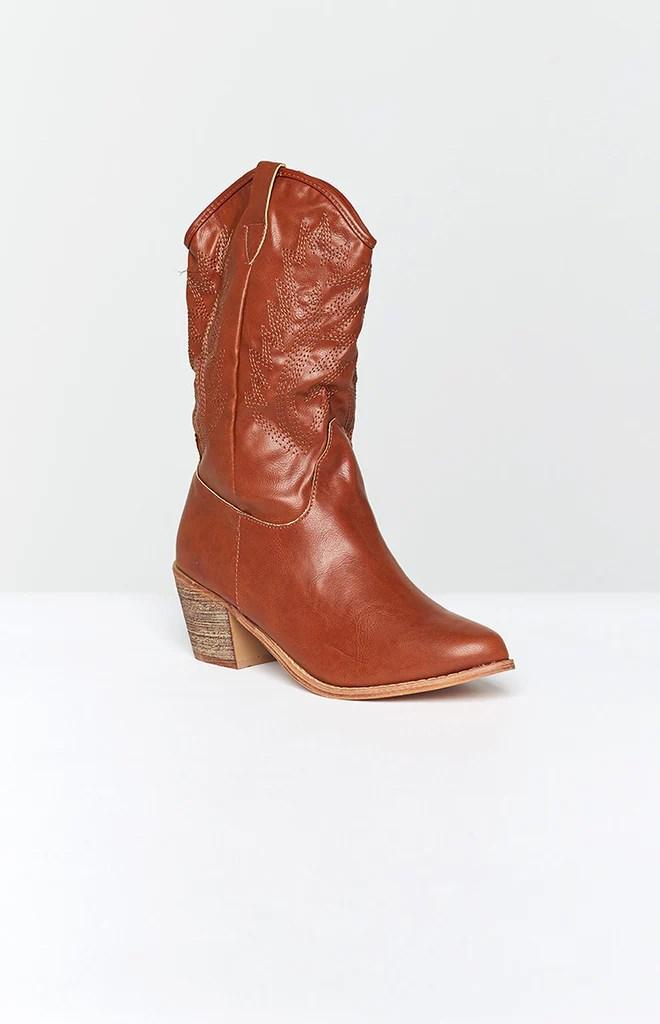 Saint Cowboy Boots Rust 3