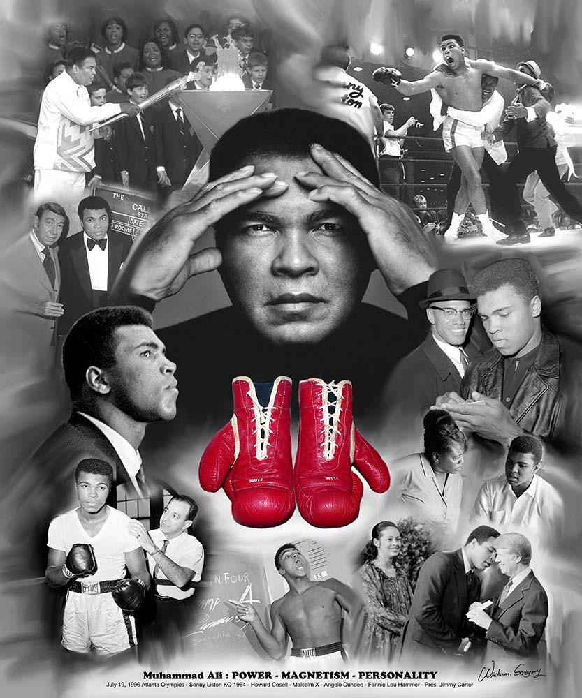Muhammad Ali: Power, Magnetism and Personality by Wishum Gregory