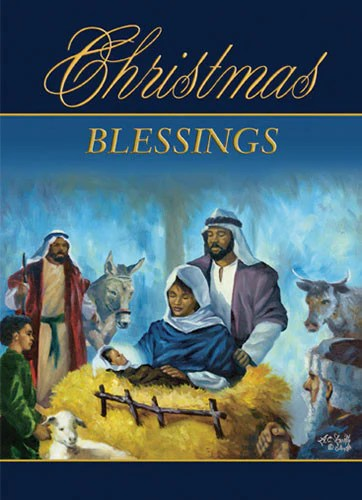 In The Stable African American Christmas Card Box Set Of 15 The Black Art Depot