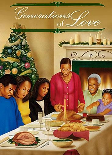 Generations Of Love African American Christmas Card Box