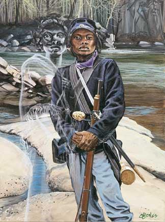 Female Buffalo Soldier Cathay Williams By John W Jones