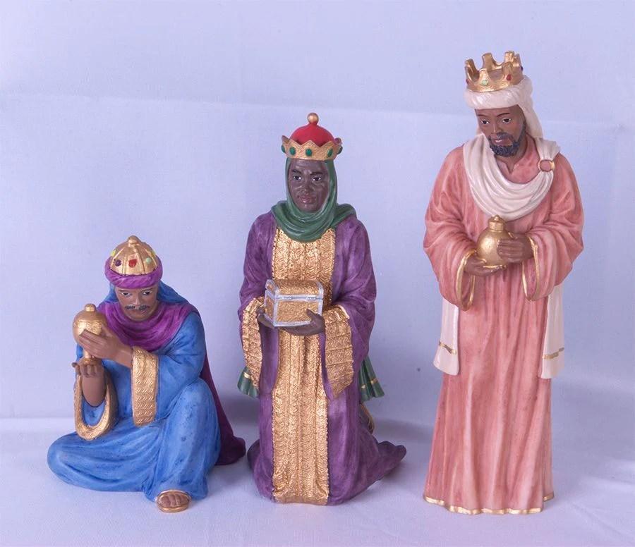 Three Kings African American Nativity Scene The Black