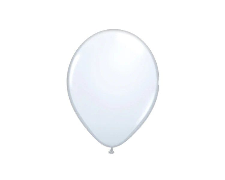 white latex balloon 11