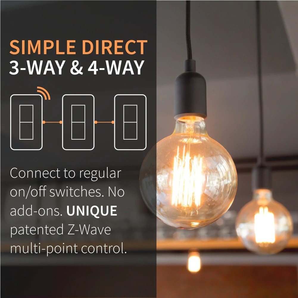 medium resolution of  zooz z wave plus s2 on off wall switch zen26 with simple direct 3