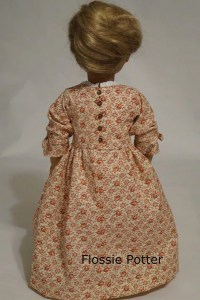 Flossie Potter Betsy Ross Shop Dress Doll Clothes Pattern ...