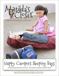 Matilda's Closet Happy Campers Sleeping Bags Doll Clothes ...