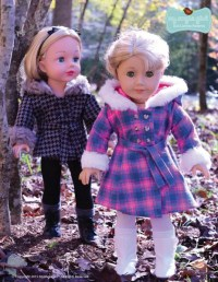 My Angie Girl The Warm Winter Coat Doll Clothes Pattern 18 ...