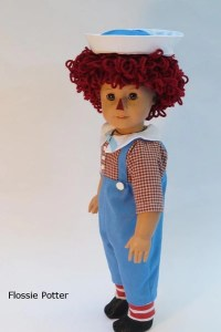 Flossie Potter Raggedy Boy Doll Costume Doll Clothes ...