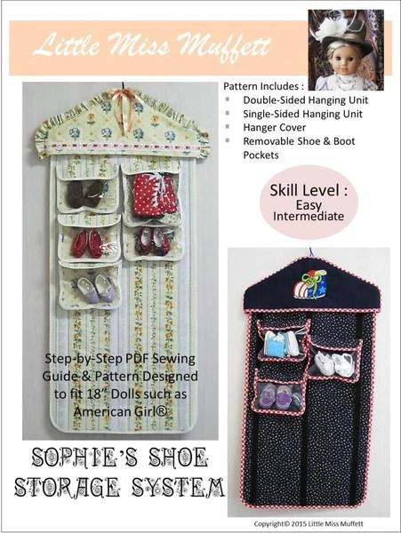 Little Miss Muffett Sophie S Shoe Storage System Doll