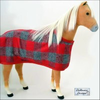 Dollhouse Designs Filly Horse Blanket and Accessories 18 ...