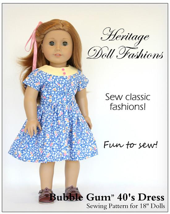 How To Sew Ruffle flutter sleeve dress for 18