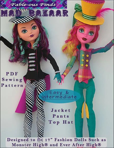 American Patterns Doll Girl Easy