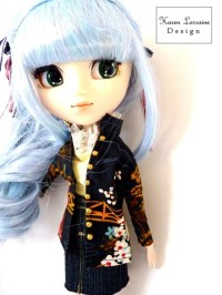 Shanghai Jacket Doll Clothes Pattern 10-12 inch Fashion ...