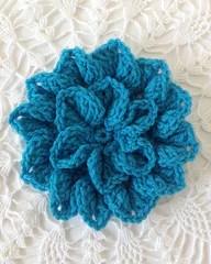 Crochet Hydrangea Flower Free Pattern ♥ http://www.maggiescrochet.com
