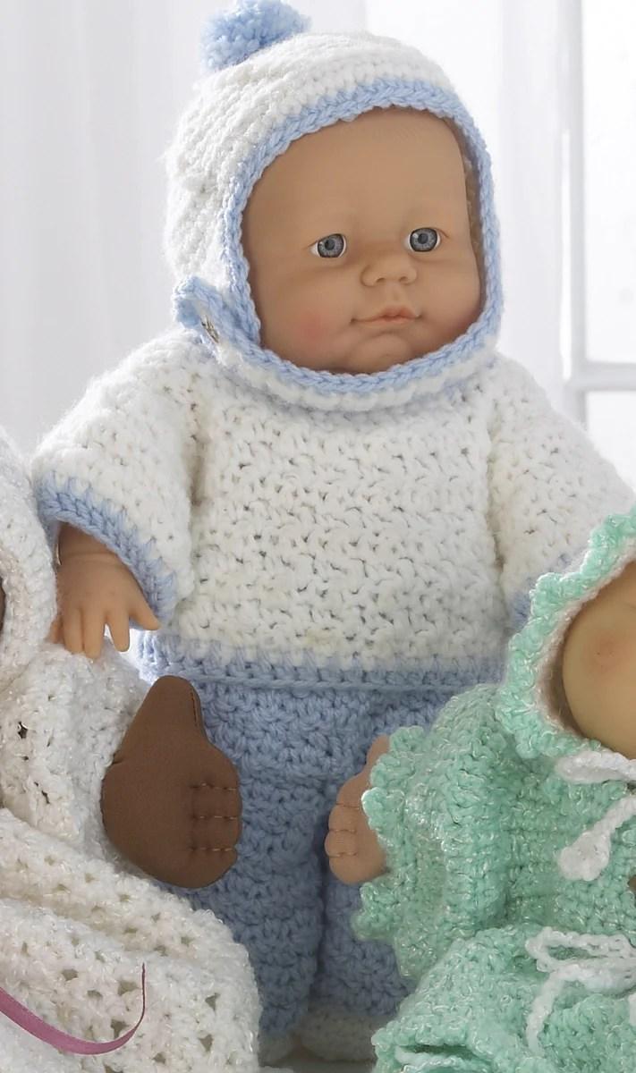 Baby Doll Wardrobe Crochet Pattern Maggies Crochet